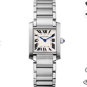 Cartier Tank franchise watch